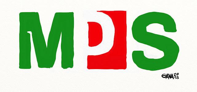 pd bersani monte dei paschi bianco rosso verde banche banca truffa 5 gavavenezia gava satira vignette venezia politica caricature ridere