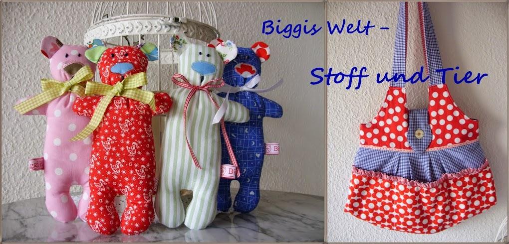 Biggis Welt -Stoff und Tier