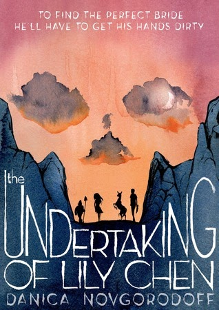 the undertaking of lily chen by danica novgorodoff book cover