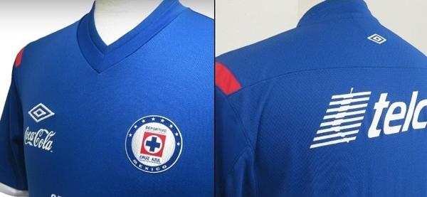 El nuevo uniforme Umbro del Cruz Azul