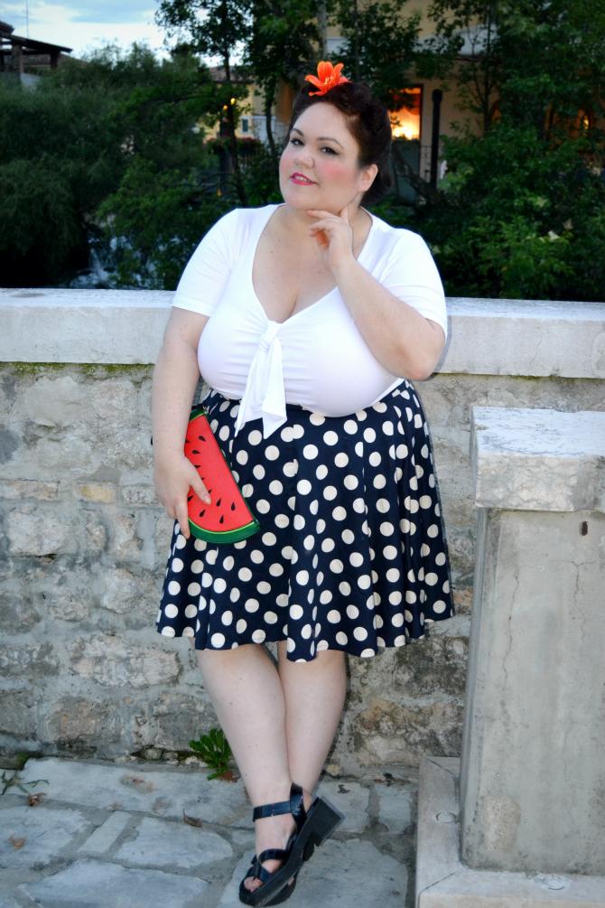 outfit plus size pinup al sacile vintage