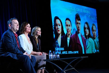 The Bletchley Circle panel at Winter 2014 TCA Press Tour