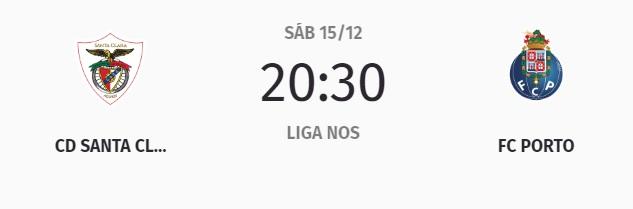15 de dezembro, 20h30: Açores