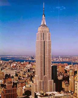 Empire State Building - Estructura Metálica Entramada