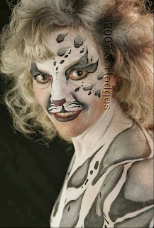 Tiger Body Painting Animals