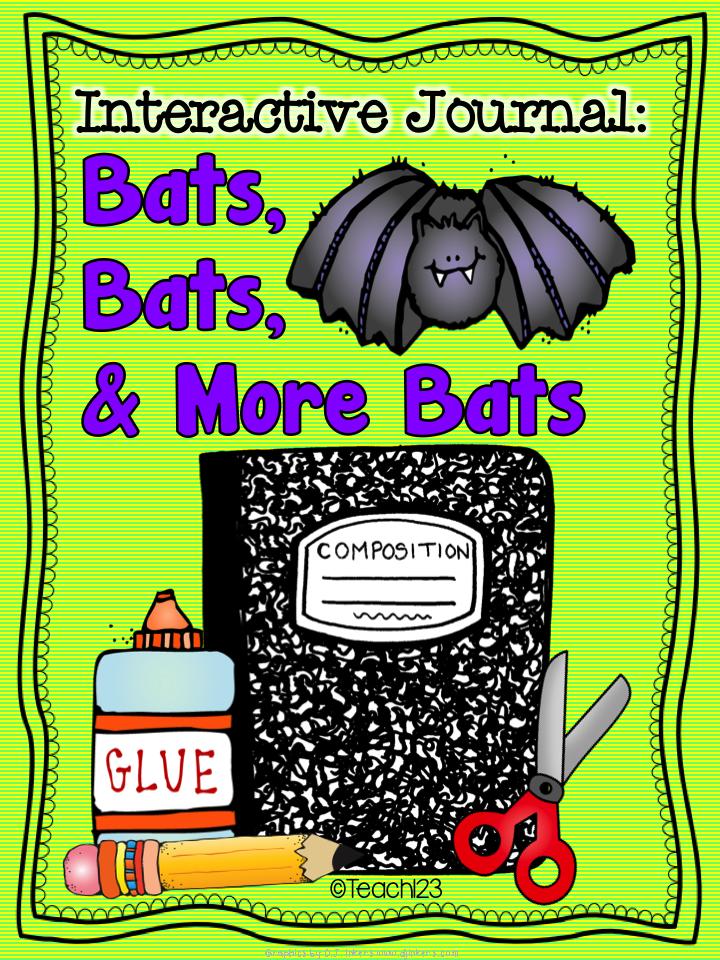 Bats:  Interactive Journal & Task Cards