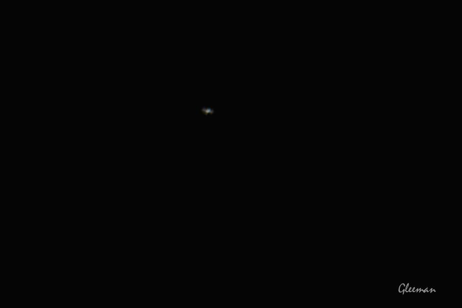 觀賞國際太空站 ISS /Pentax 75SDHF ,  A-2XL, Pentax K5 ISO640  1/500s