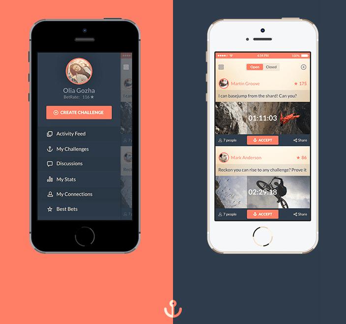 Betanchor & FM Radio UI- free iOS7