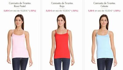 Otros colores de camisetas