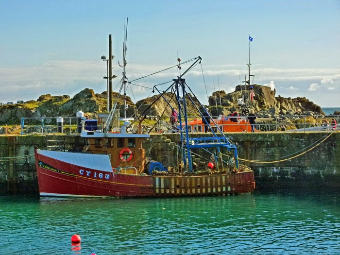 Portpatrick, fishing, Dumfries and Galloway, Scotland