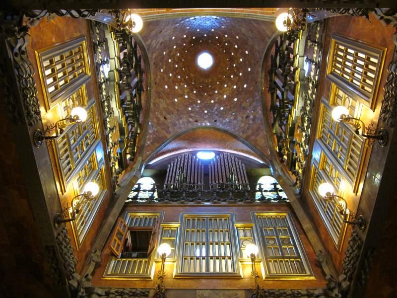 BARCELONA - MODERNISM OF GAUDI: PALAU GÜELL ~ Beautiful places of ...