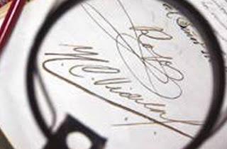 Falsificación de firmas