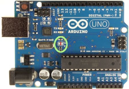 Arduino uno software serial