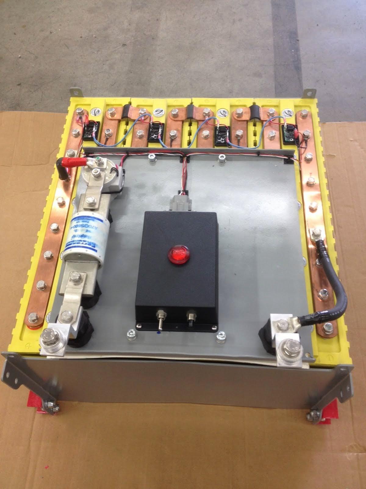 16,000 Watt Lithium Battery System