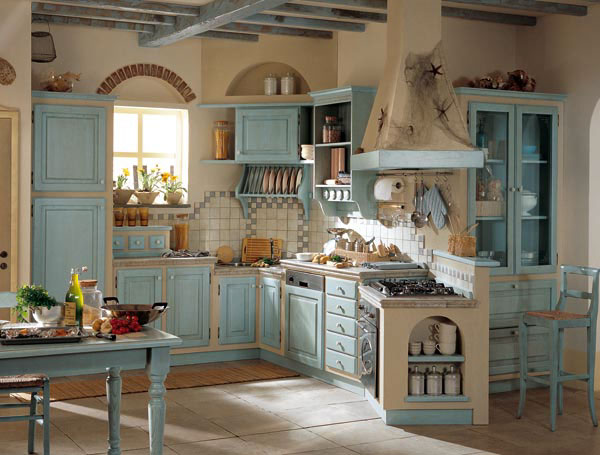 Cocinas country ideas y propuestas ideas para decorar - Ideas para disenar una cocina ...