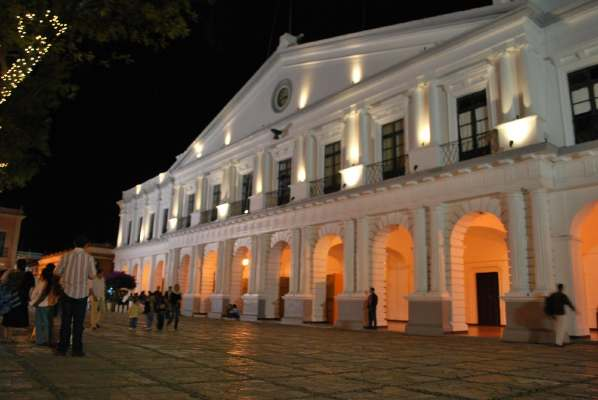 HALLAZGO DE PIEDRAS LABRADAS - PALACIO MUNICIPAL SCLC