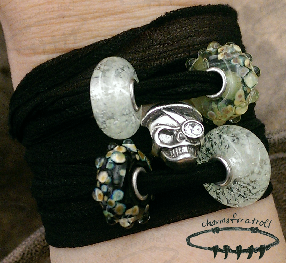 Talk Like a Pirate Day Wrap Bracelet
