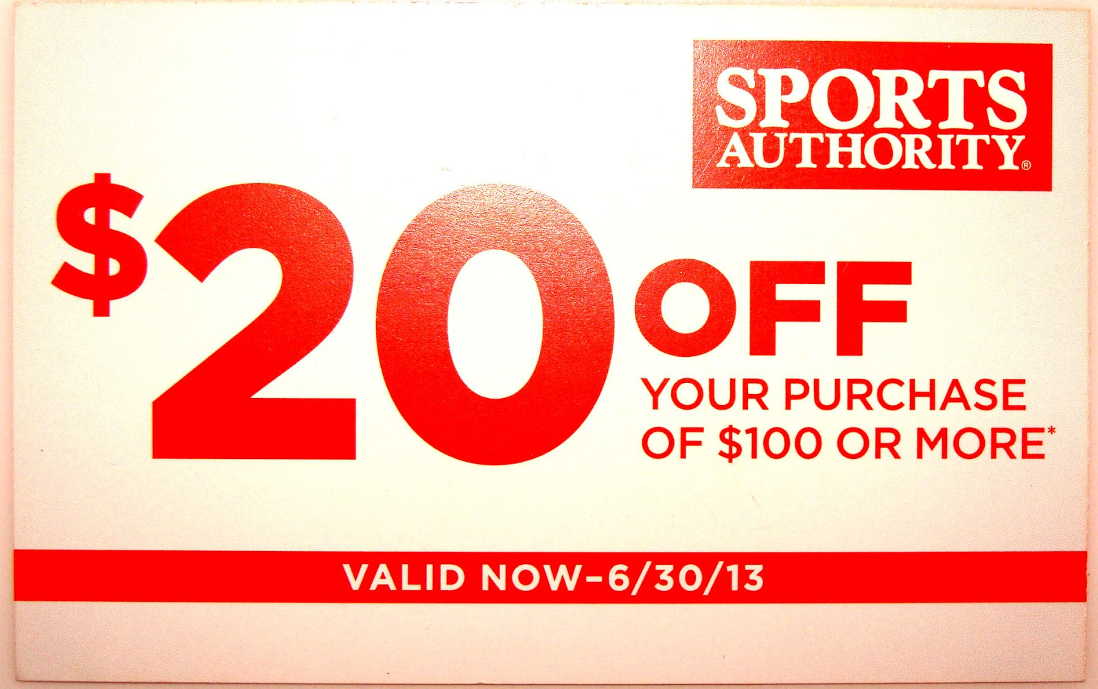 Sports Authority Coupon April 2014 If you see the coupons are