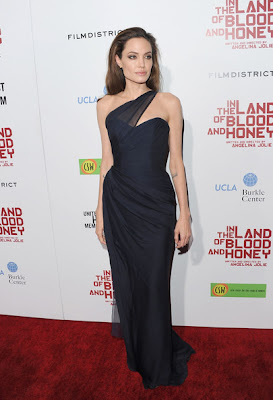 Angelina Jolie Evening Dress