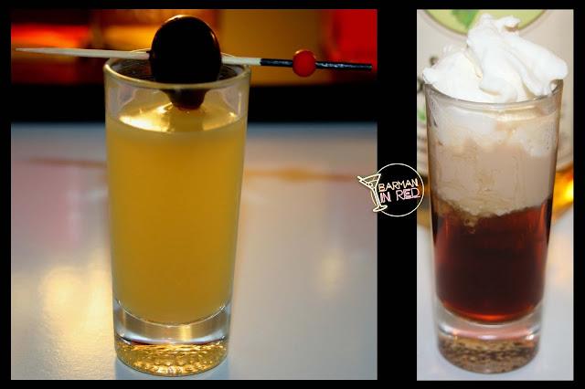 2 shots drinks