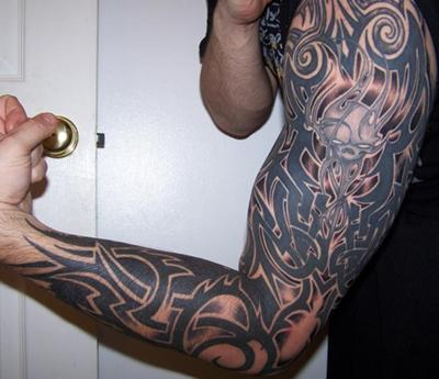 sleave tattoo. makeup full sleeve tattoo
