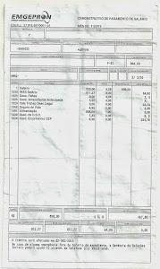 Esse é o salário dos Metalúrgicos da Empresa Pública do Governo Federal (Emgepron).