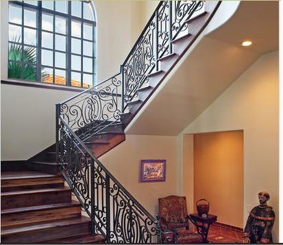 Fotos de escaleras escalera de hierro for Construccion de escaleras de hierro