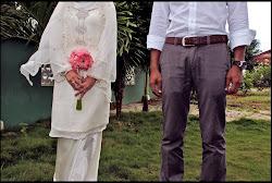 Wedding and engagement dress