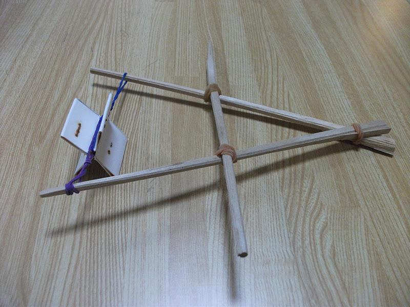 Japanese Chopsticks Boat Toy Craft Preschool Crafts For Kids