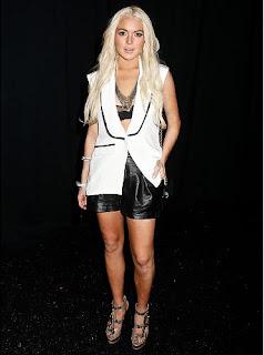 Lindsay Lohan Underwear Outerwear, Lindsay Lohan Underwear Pics