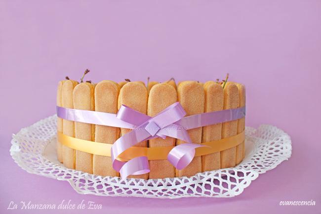 preciosa tarta charlota