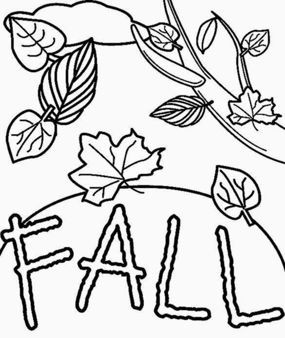 free printable fall coloring pages az coloring pages - Free Fall Coloring Pages Print