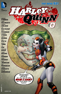 Cover of Harley Quinn #0 from DC Comics