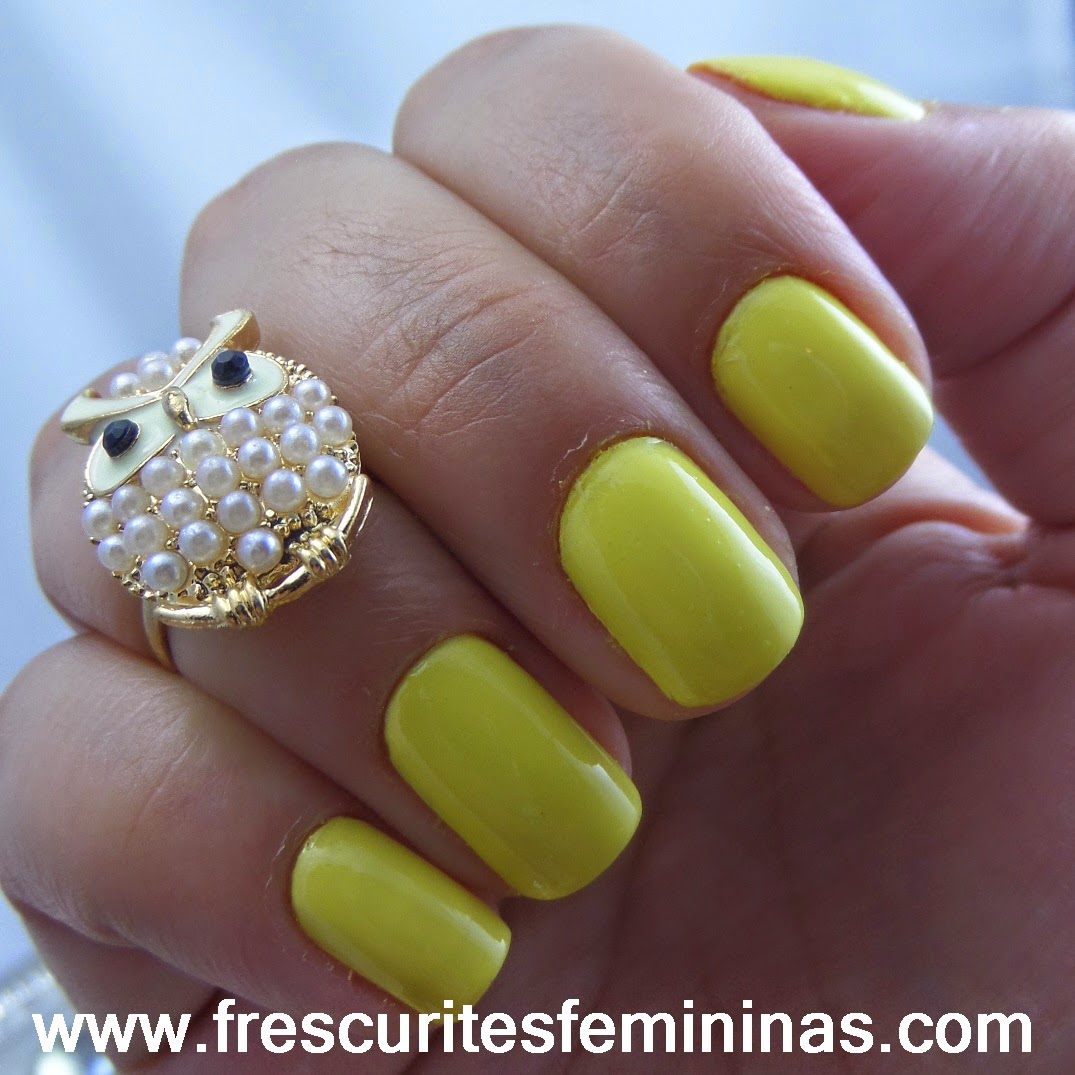 Frescurites Femininas, Yellow Nails, Mellow Yellow