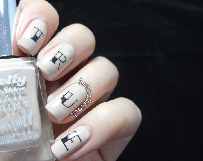 House of Wonderland Rockin\' Claws Nail Decals - Review | Brit Nails