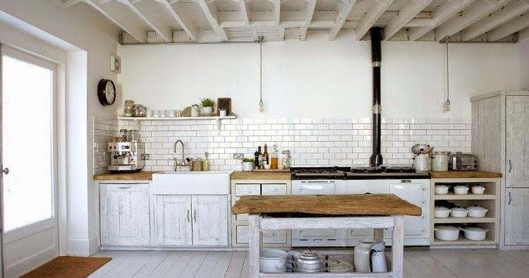 Decoraci n cocinas blancas - Decoracion cocinas blancas ...
