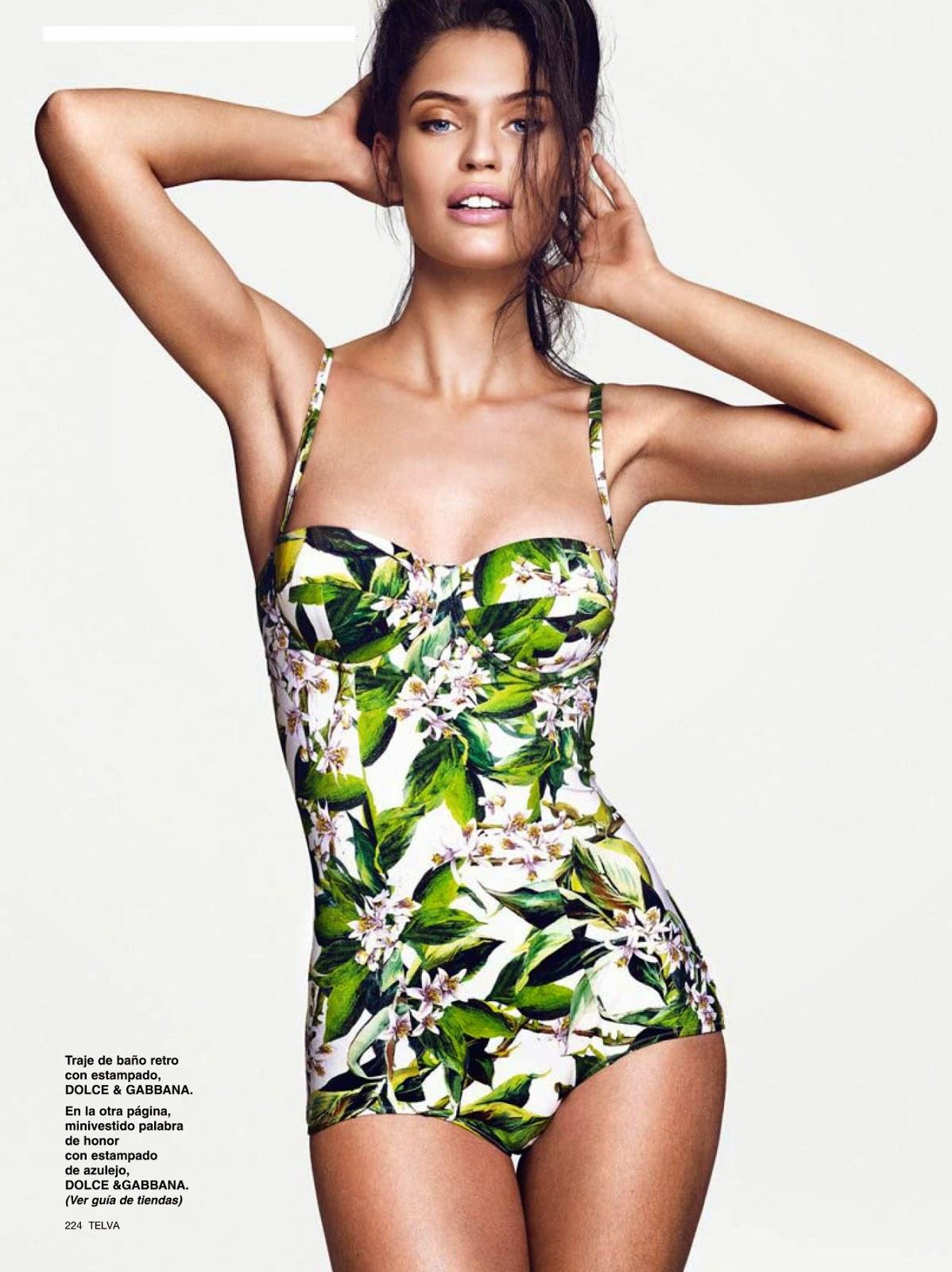 Bianca Balti For Telva Magazine, Spain, July 2014