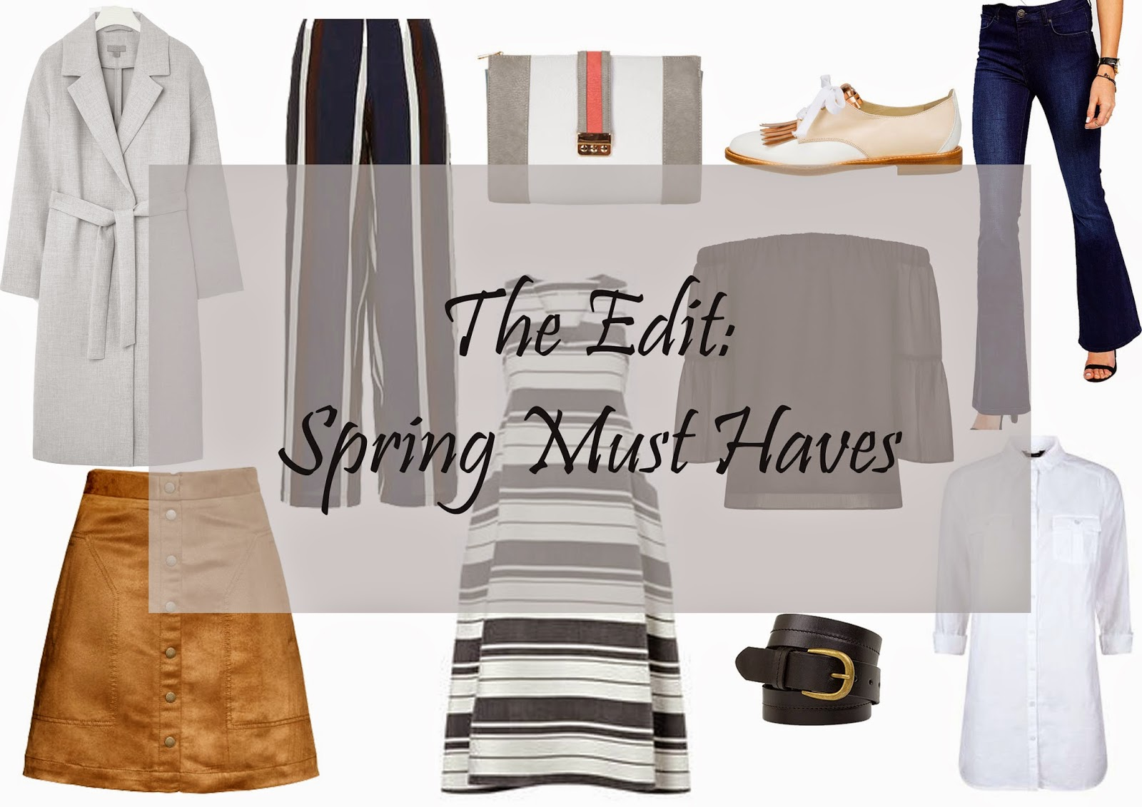 The Edit: Spring Must Haves on Laura Rebecca Smith Fashion Blog