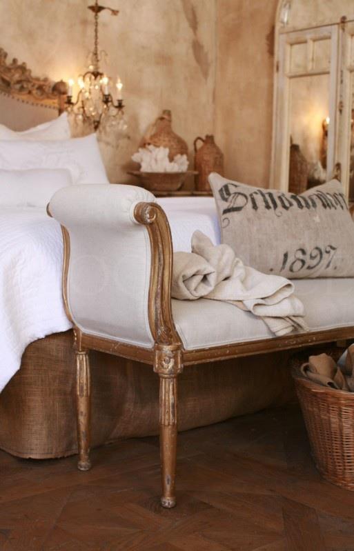 Boiserie c camere da letto 45 idee per ricreare lo stile shabby chic - Camere da letto stile country ...