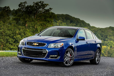 2016 Chevrolet SS Reveals Style and Performance Upgrades