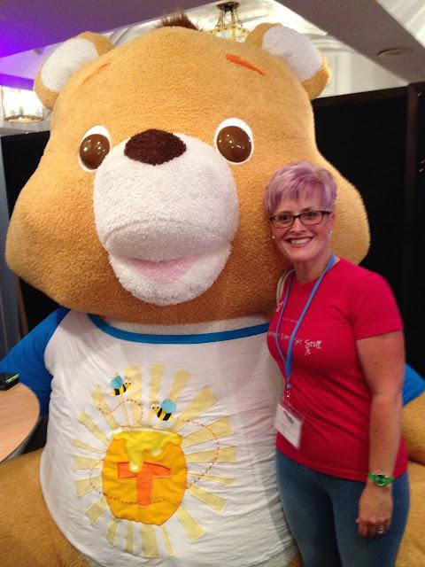 With Freddy Bear
