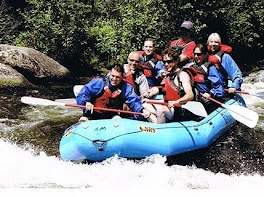 White Water Rafting the Taylor