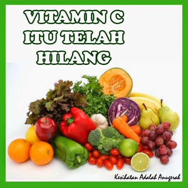 Kenapa kurang vitamin C dalam makanan harian