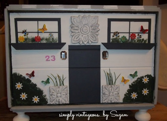 simple, diy, dollhouse, details, flowers