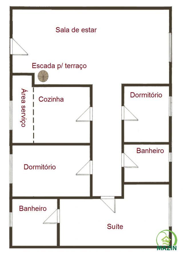 Planta Apartamento Esteio