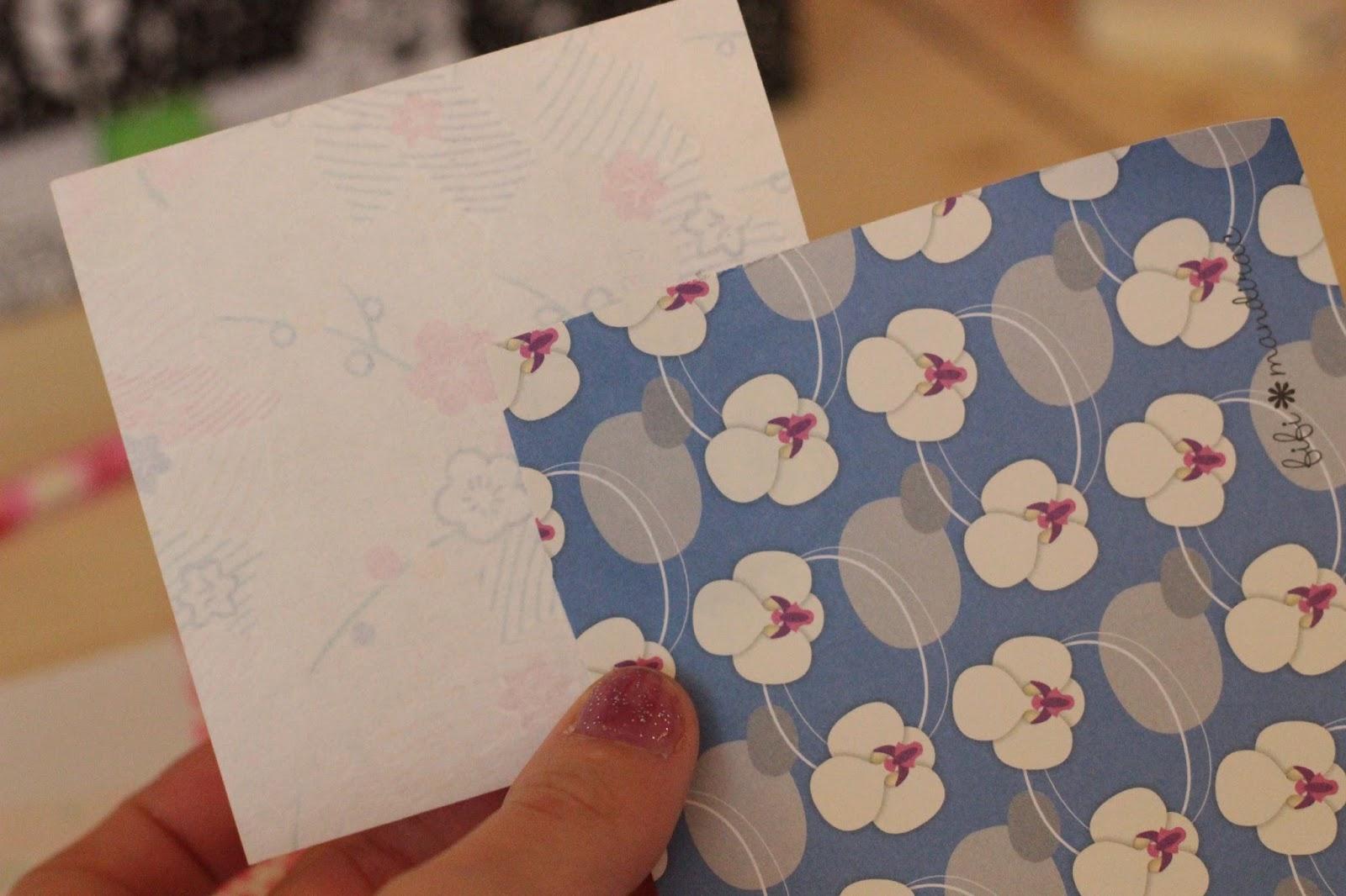 marque-verre oiseau papillon en papier