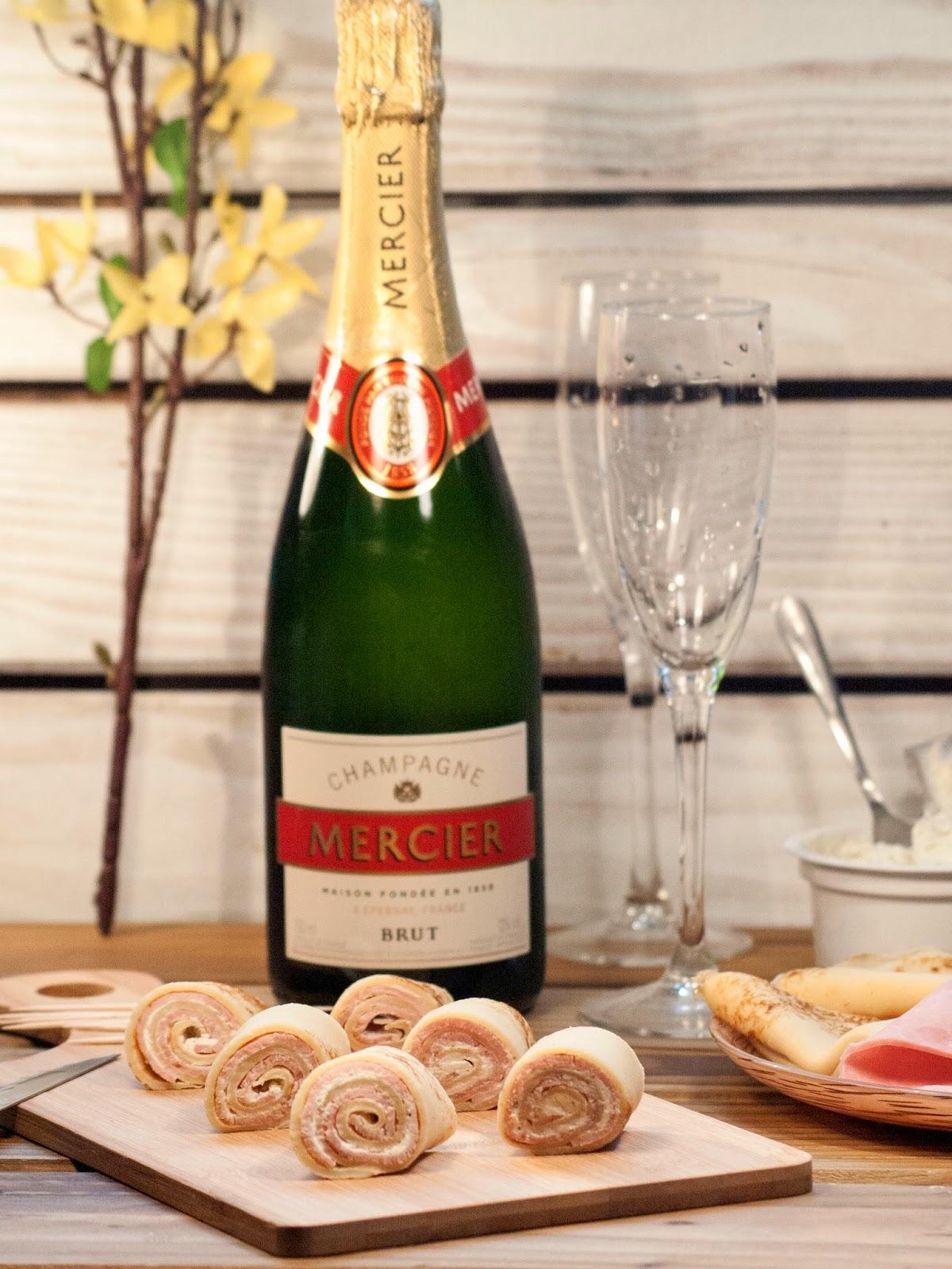 idées apéro, apéro, recette apéro, repas fête des mères, champagne mercier