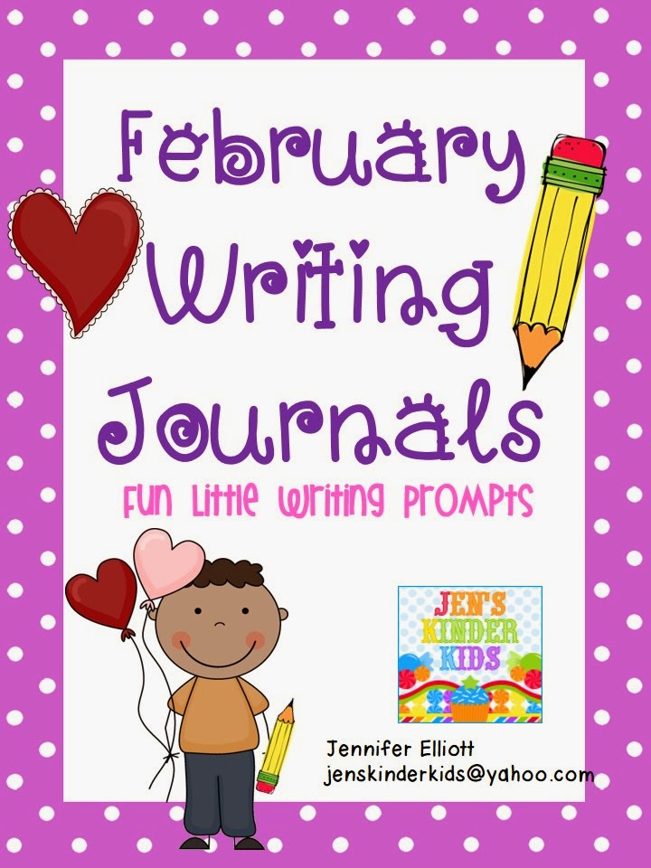 http://www.teacherspayteachers.com/Product/Writing-Journals-February-1078136