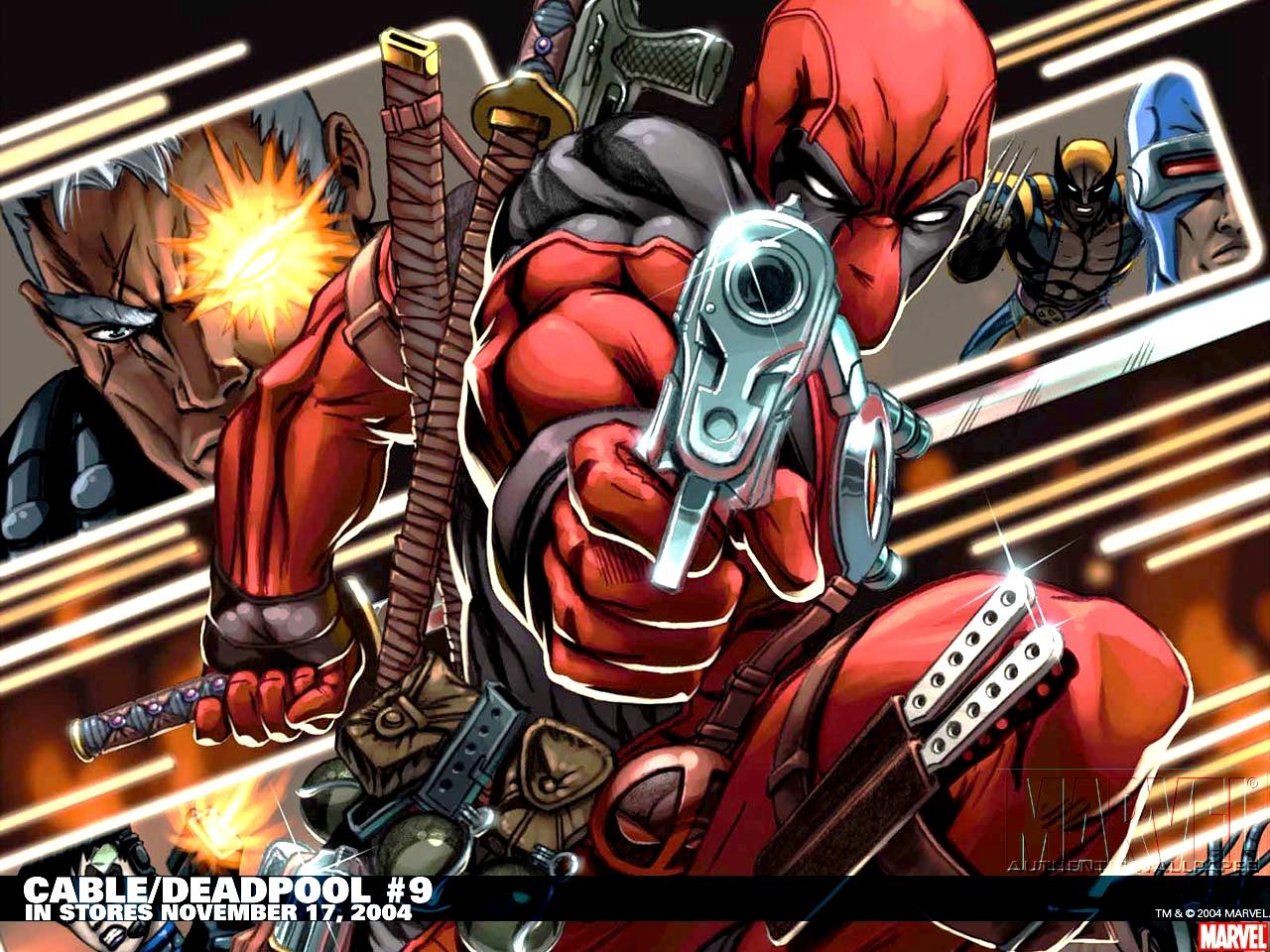 Deadpool wallpaper 1280x960