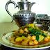 Ciecierzyca z pikantnymi warzywami po arabsku